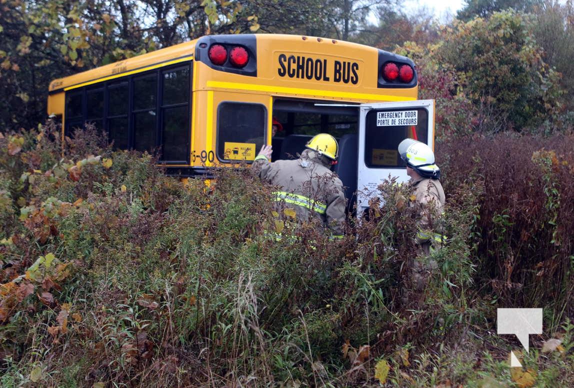 School Bus Goes Off Roadway Strikes Tree In Hamilton ...