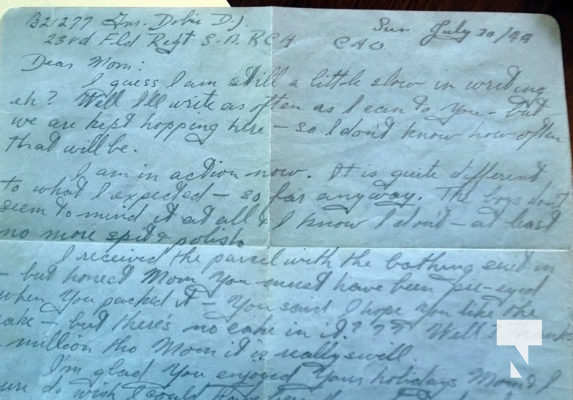 couple surprised to receive letters dating back to world war 2