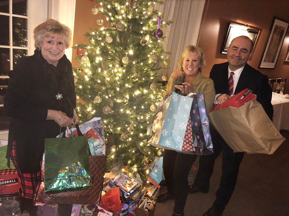 Christmas Babes.Babes In Toyland Brings People Together To Make A Difference
